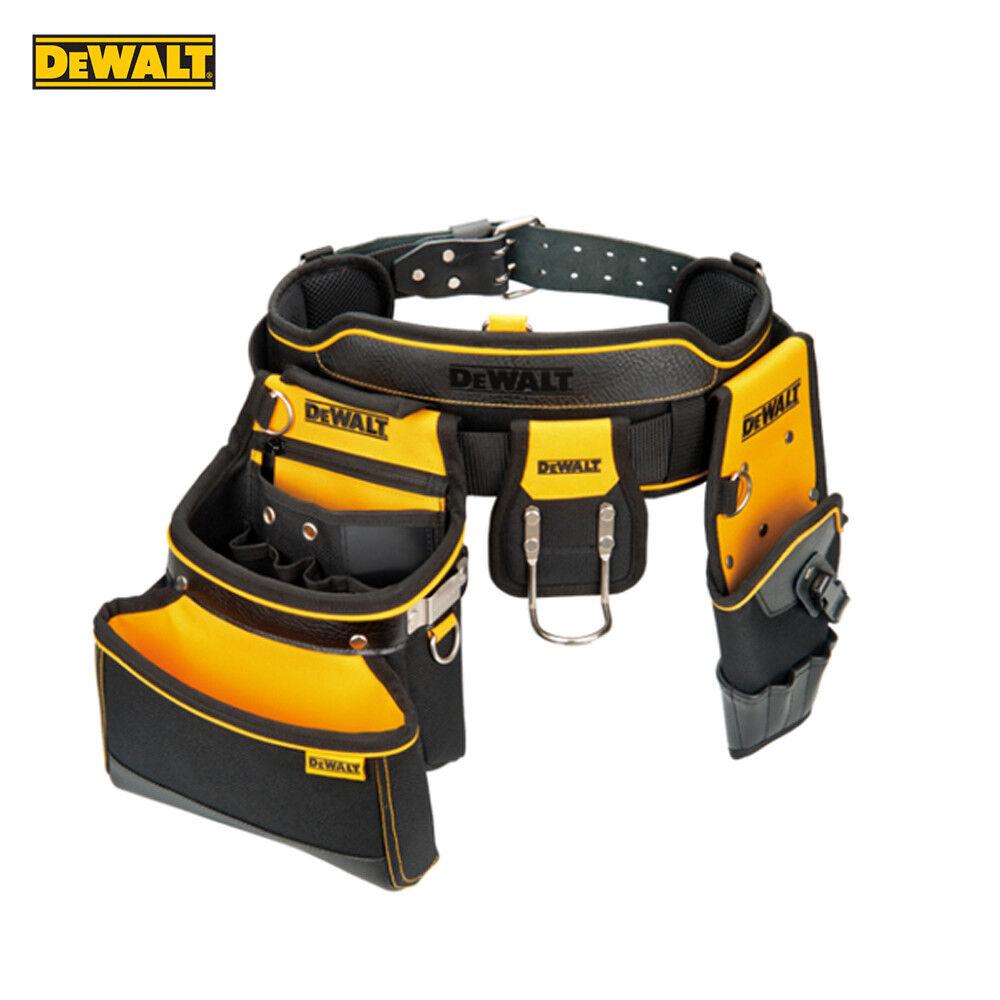 Genuine DeWalt Heavy Duty Multi Purpose Work Tool Belt & Pouch Storage Organizer