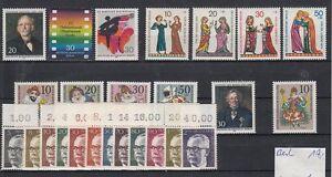 Berlin-Jahrgang-1970-postfrisch-034-Heinemann-034-mit-Oberrand