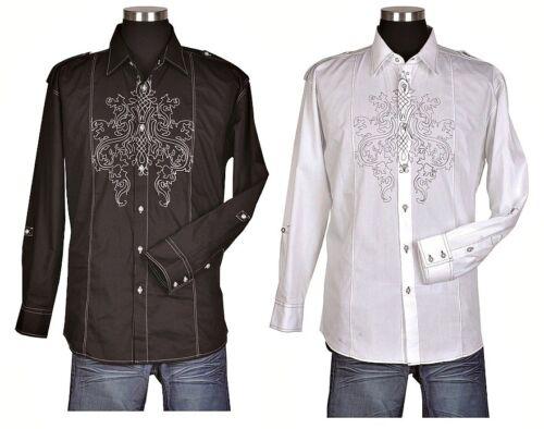 Designed by Milano Moda Sty 33 Stylist Casual Shirt 100/%  cotton