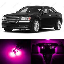 13 x Pink/Purple LED Interior Light Package For 2011- 2014 Chrysler 300 300C