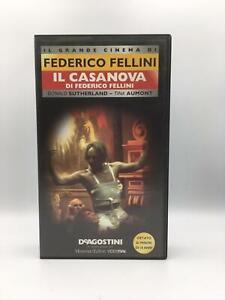 VHS-FILM-Ita-Drammatico-IL-CASANOVA-DI-FEDERICO-FELLINI