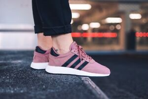 lower price with uk store save off Details about ADIDAS INIKI RUNNER BOOST I-5923 RAW PINK DUSTY CORE BLACK  BY9095 WOMEN'S SHOES