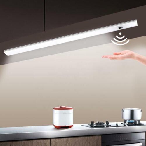 Hand Motion Sensor LED Cabinet Lights Lamps For Cupboard Wardrobe Kitchen Closet