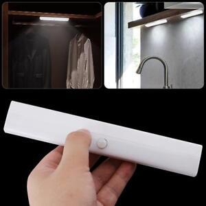 10-Led-Portatil-Inalambrico-Sensor-de-movimiento-armario-debajo-de-armarios-Noche-Luces-Lamparas