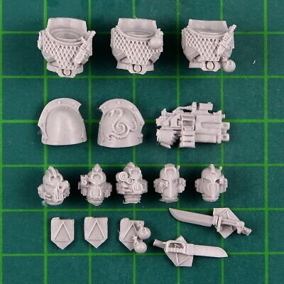 *BITS* Alpha Legion Headhunter Kill Team Forgeworld Kopf D