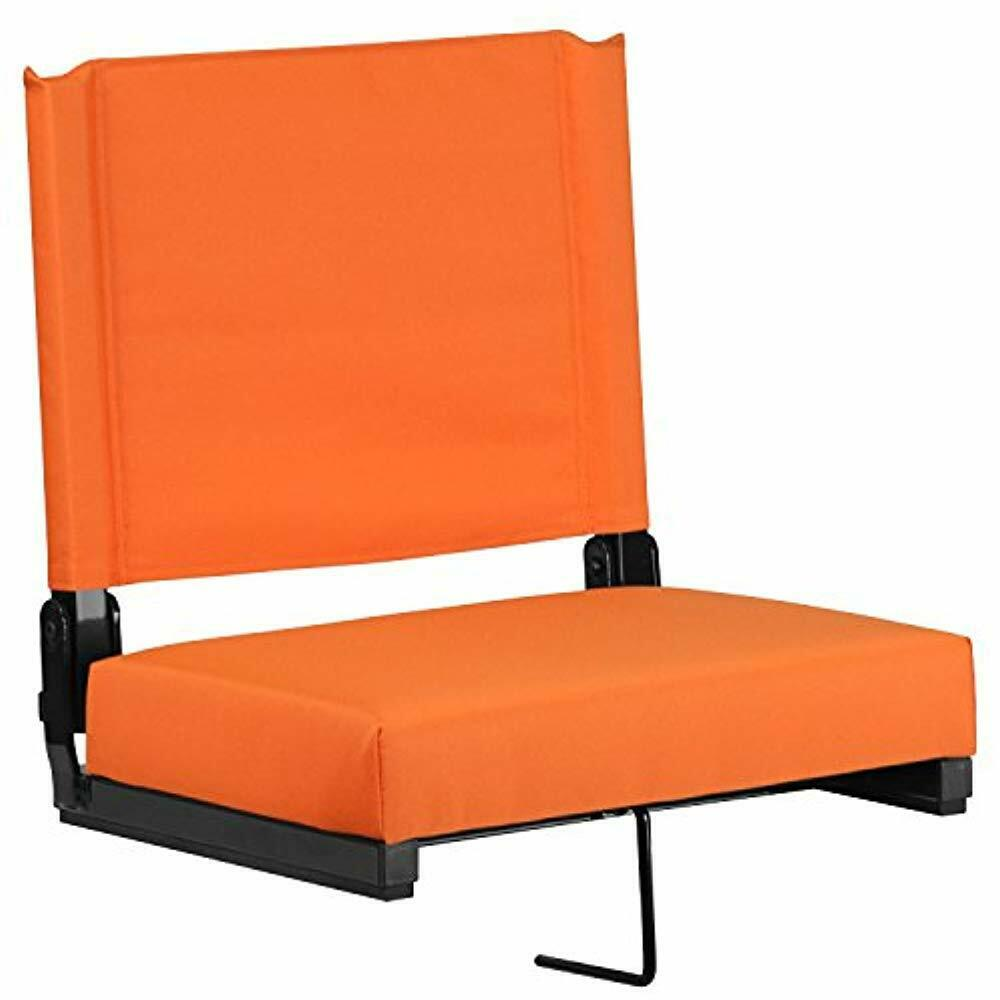 Grandstand Comfort Seats By Flash With Ultra-Padded In orange Kitchen   Dining