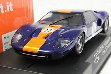 SLOT IT SICA18D FORD GT40 GULF 1ST PLACE DAYTONA 67 NEW 1/32 SLOT CAR IN DISPLAY