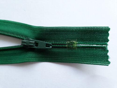 2 unidades cremalleras nylon wirkware ykk tamaño 3 indivisibles diverse colores 12cm