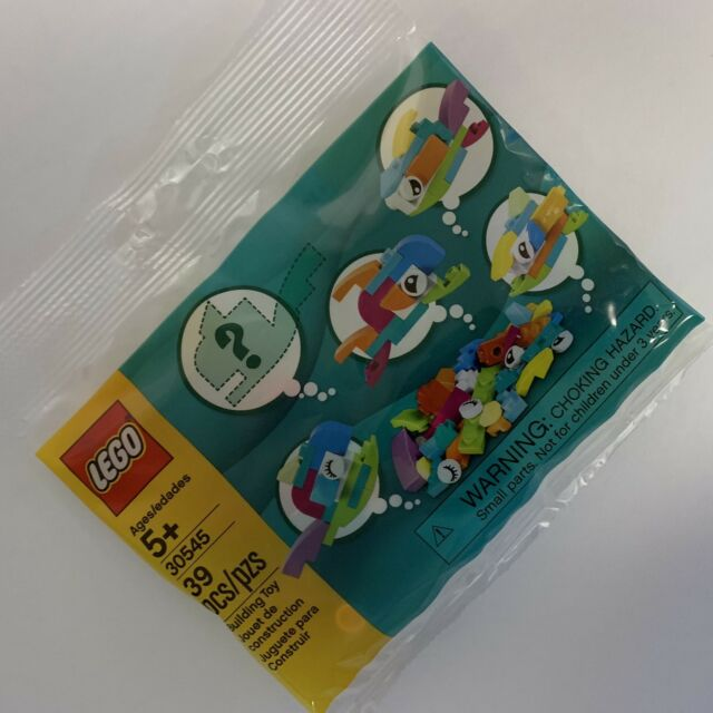 LEGO 30545 Fish Free Builds - Make It Yours polybag - NEW