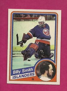 1984-85-OPC-135-ISLANDERS-BILL-SMITH-GOALIE-NRMT-MT-CARD-INV-8723