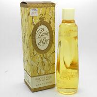 Vintage Lentheric Bain D'or Bath Oil 4oz, Rare 40+ Years Old
