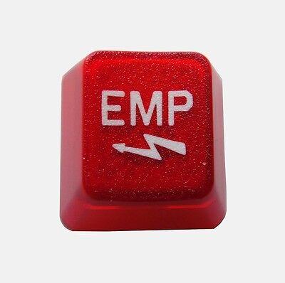 Translucent Red EMP Keycap Novelty Doubleshot Cherry MX Keycaps / Key cap