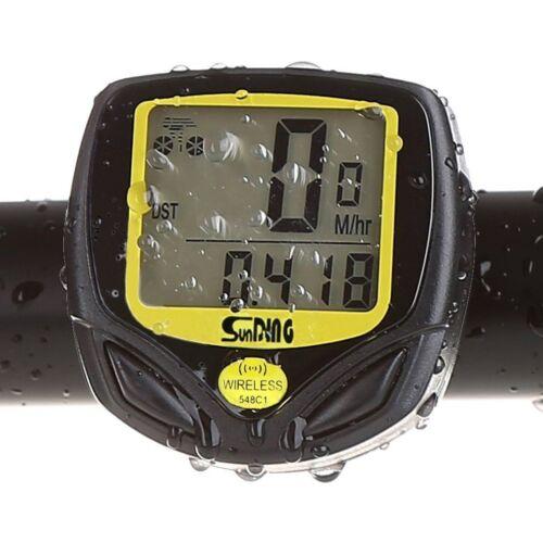 Waterproof Cycling Bike Odometer KEWAYO Multi Functions Wireless Cyclocomputer