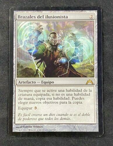 MTG Magic The Gathering Illusionist/'s Bracers Gatecrash Spanish LP