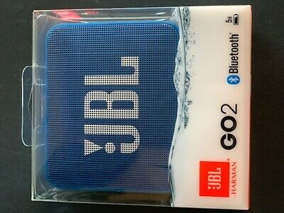 Diskret Wireless Speaker Portable Bluetooth Jbl Go 2 Blue KöStlich Im Geschmack