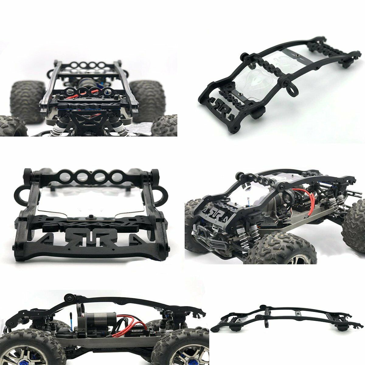 For Traxxas EMAXX E-MAXX Nylon Frame Shell Body Protective Cover Keel Roll Cage