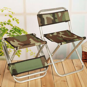 Super Details About Outdoor Sports Folding Fishing Chair Camping Stool Beach Seat Furniture Camo Pdpeps Interior Chair Design Pdpepsorg