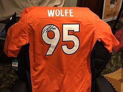 Derek Wolfe Autographed Denver Broncos Jersey | eBay