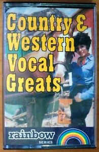 Country-amp-Western-Vocal-Greats-Various-Artistsl-Music-Cassette-Tape