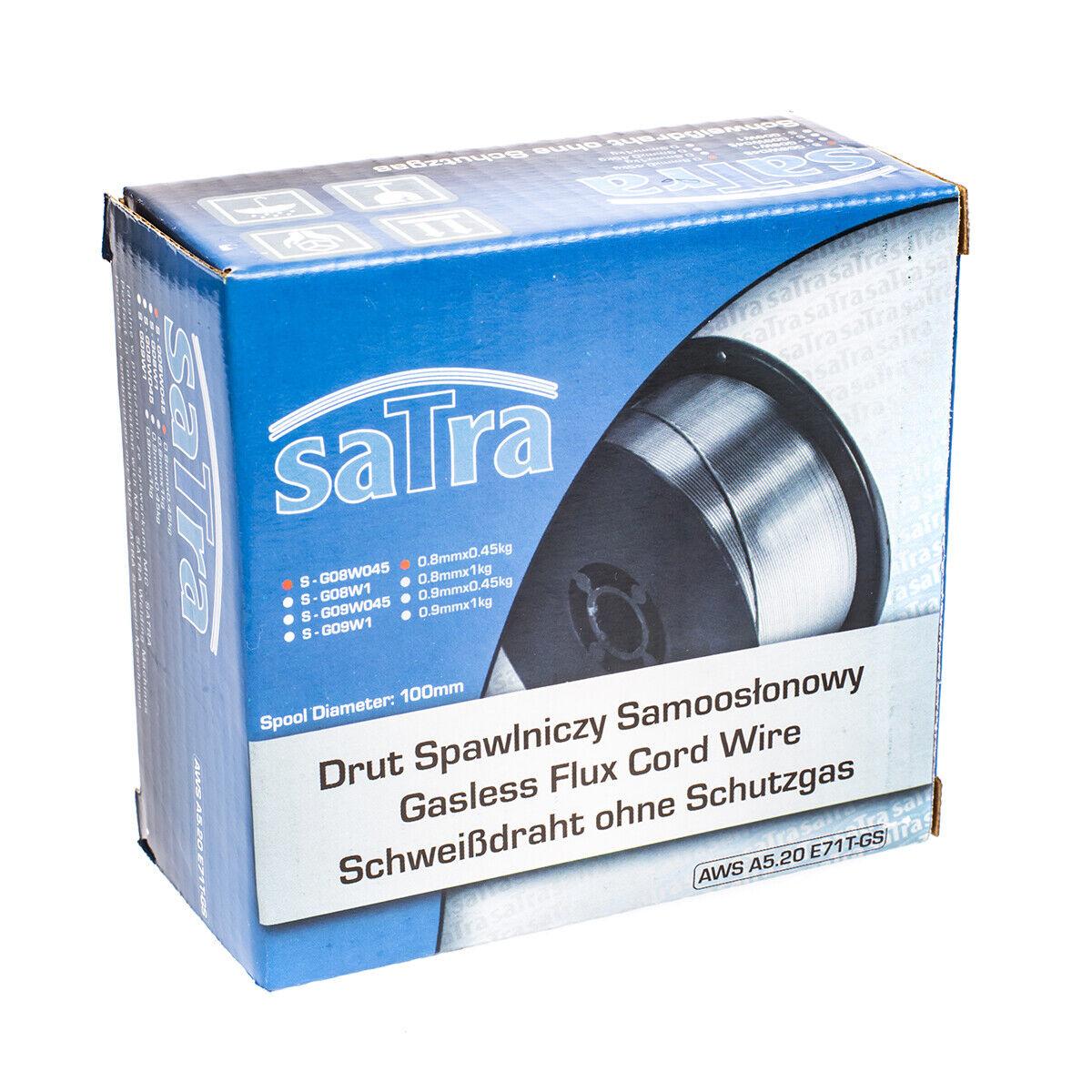 G09W045 Gasless Welding Wire MIG 0.9mm Flux Cored 0.45kg Reel AWS A5.20 E71T-GS