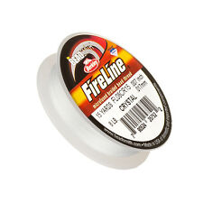 """Fireline Braided Beading Thread Crystal 8LB 15yd reel 0.007"""" (0.15mm) (K18/2)"""