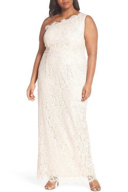 Adrianna Papell ® Plus Talla 22 W azulsh  Encaje Vestido Metálico Un Hombro Nuevo Con Etiquetas  229  grandes precios de descuento