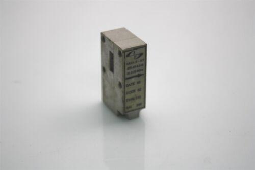 2x Ceragon ARGUS-ET ED-0143-0 RF Microwave Waveguide Isolator WR42 21.2-23.6GHz