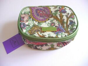 Etro-NWT-Colorful-Fabric-Etro-Classic-Print-Round-Jewelry-Pouch-Bag-Retail-195