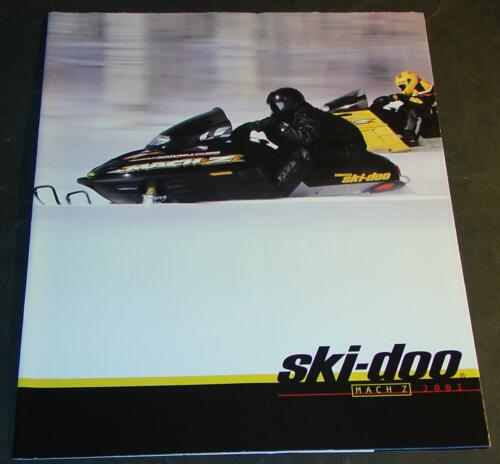 Manuals 2001 SKI-DOO MACH Z SNOWMOBILE SALES BROCHURE 12 PAGES NEW ...