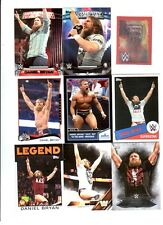 Daniel Bryan Wrestling Lot of 9 Different Trading Cards 2 Inserts WWE TNA DB-E1