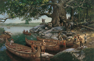 WE-DINED-IN-HOLLOW-TREE-Robert-Griffing-SIGNED-Limited-Edition-Print-NEW