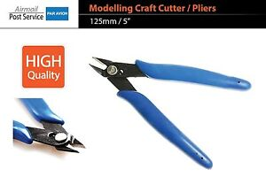 Modelling-Model-Craft-Side-Cutter-precision-plastic-pliers-tool-point-fit-Tamiya