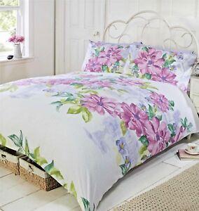 Image Is Loading King Size Duvet Cover Set Botanical Gardens Pink