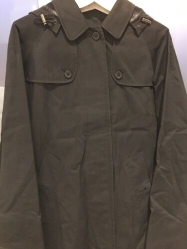Burberry Small Wool Hood Us S Coat 2 Uk Lining Xs Detachable Fringed 4 Gilet rqRrO4w6