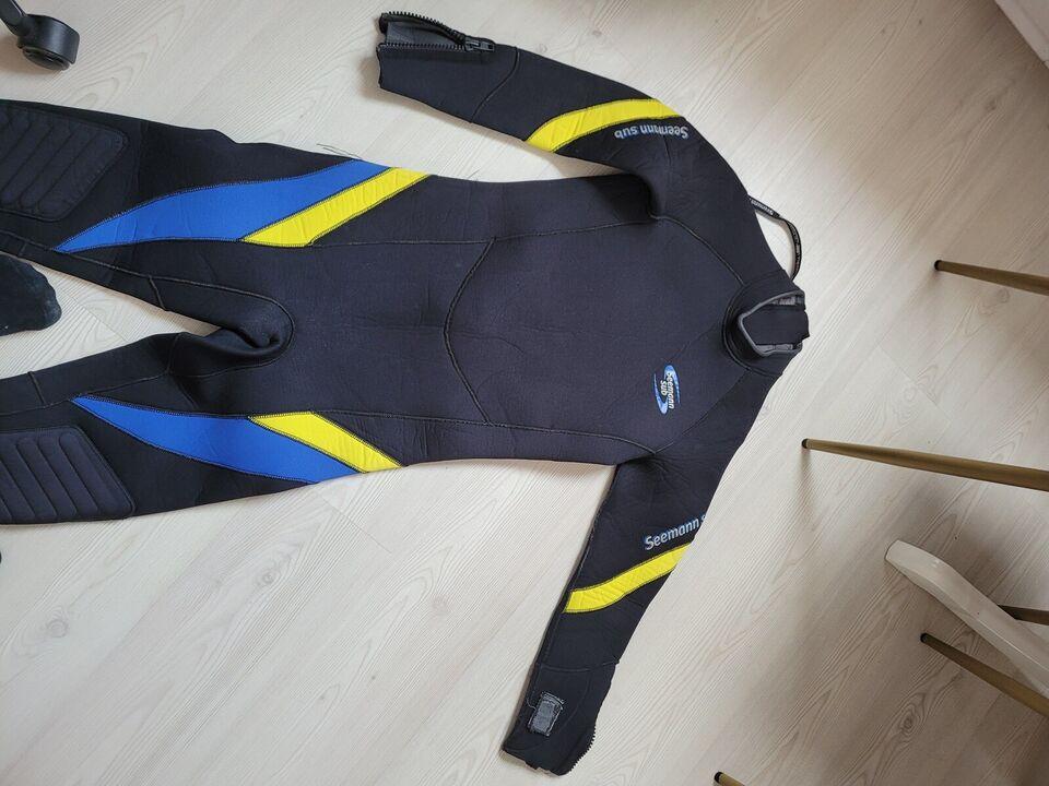 M/L 52 50 7mm Våddragt wetsuit medium/large 52 7mm, Seemann
