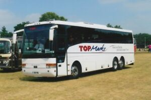 Details About Bus Photo Photograph Top Marks Coaches Picture Van Hool Volvo Coach