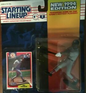 1994 New Starting Lineup Mo Vaughn Card/Figurine BOSTON RED SOX