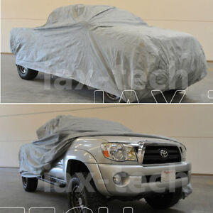 2012 Toyota Tacoma Double Cab >> Details About 2009 2010 2011 2012 Toyota Tacoma Double Cab 5ft Bed Breathable Truck Cover