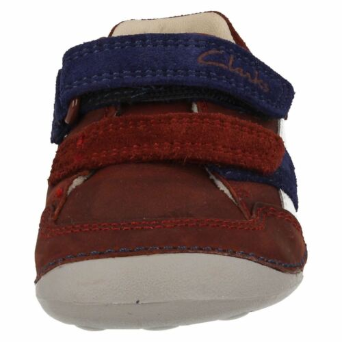 Para Pequeño De Zapatos' Marrón Niños Zakk Clarks Gateo Combinación Cuero ' dnXHw4xq
