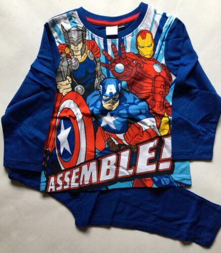 Long Legged Pyjamas with Avengers detail Boys Long Sleeved