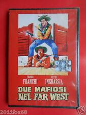 dvd,film,due mafiosi nel far west,franco franchi,ciccio ingrassia,helene chanel