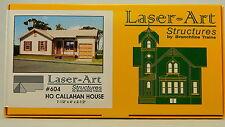 NIB HO Branchline Laser-Art #604 Callahan House Kit
