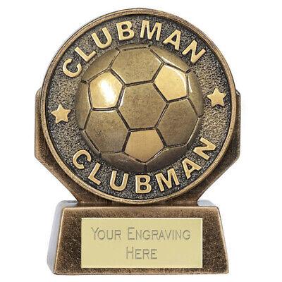WORLD FOOTBALL TROPHY AWARD 160MM FREE ENGRAVING