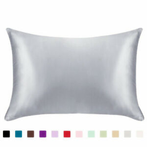 Pure-Mulberry-Silk-Pillow-Case-Pillowcase-Cover-Housewife-Queen-Standard-Cushion