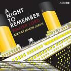 A Night to Remember by Walter Lord (CD-Audio, 2012)