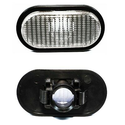 RENAULT MEGANE I side indicator repeater lens light with bulbs white colour