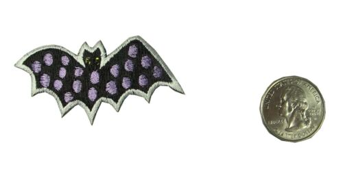 Halloween Bat Embroidery Iron On Applique Patch