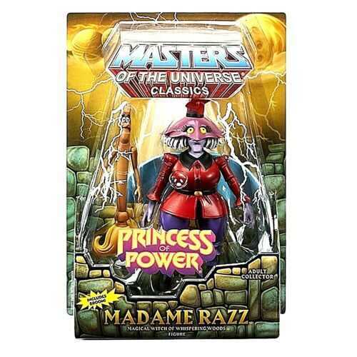 Masters Of The Universe Classics Princesse Puissance Madame Razz
