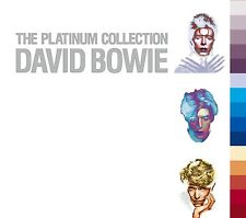 DAVID BOWIE The Platinum Collection 3CD 2005 Best Of From 1969 to 1987 57 Tracks