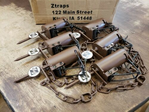 12 Brown Z Trap Dog Proof Trap DP Trap Push and Pull Trigger 1 Dozen